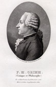 Portrait of Fr�d�ric-Melchior Grimm (1723-1807) - German Critic and Author