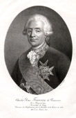 Portrait of Charles-René de Fourcroy de Ramecourt (1715-1791) - French Military Engineer