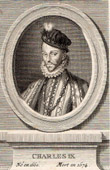 Portrait of Charles IX (1550-1574)