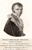 Portrait of Nicolas Fran�ois Mollien (1758-1850) - French Politician - Peer of France