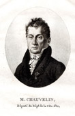 Portrait of Fran�ois Bernard Chauvelin (1766-1832)