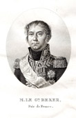 Portrait of Nicolas Léonard Bagert Beker (1770-1840) - General of the French Revolution