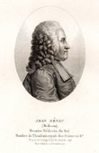 Portrait of Jean-Baptiste S�nac (1693�1770) - French Doctor