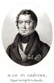 Portrait of Paul Grenier (1768-1827) - General of French Revolution