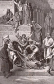 Biblical Scene - Bible - Martyrdom of Eleazar (Gustave Doré)
