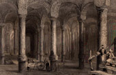 View of Constantinople - Istanbul - Cistern of Bin-Veber-Direg - The Thousand and One (Turkey)