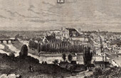 View of Poitiers - Vienne (France)