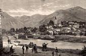 View of Digne-les-Bains - Alpes-de-Haute-Provence (France)