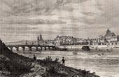 View of Blois - Loir-et-Cher (France)