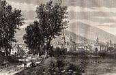View of Gu�ret - Creuse (France)