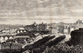 View of Laval - Mayenne (France)