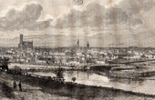 View of Limoges - Haute-Vienne (France)