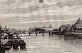 View of Paris - Quays of the Seine (France)