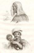 Vanuatu öarna - Tanna Island - Man och Kvinna av Tanna