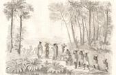 Neuseeland - Missionar Marsden und seine Diener