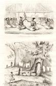 Rotuma - Fiji - Ceremoni av �verf�ringen av Driver - Jordf�stningen av Konungarna