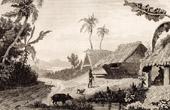 Tonga Islands - View of Namouka Island