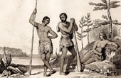 New Hebrides - Vanuatu - Pacific Islands - Inhabitants of Mallicolo