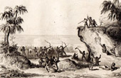 Fiji Islands - Viti Islands - Fights of the Captain Peter Dillon against the Islanders of Viti Levu