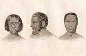 Rawak Island - Oceania - Portraits of Papuans