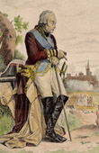 Portrait - Nicolas Luckner - Marshal of France - French Revolutionary Wars