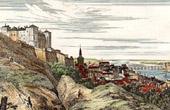 View of Saumur (Maine-et-Loire - France) - Pays de la Loire