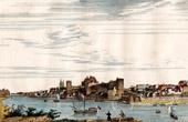 View of Angers (Maine-et-Loire - France) - Pays de la Loire