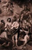 Flemish painting - Quatre couronnés (Gaspar de Crayer)