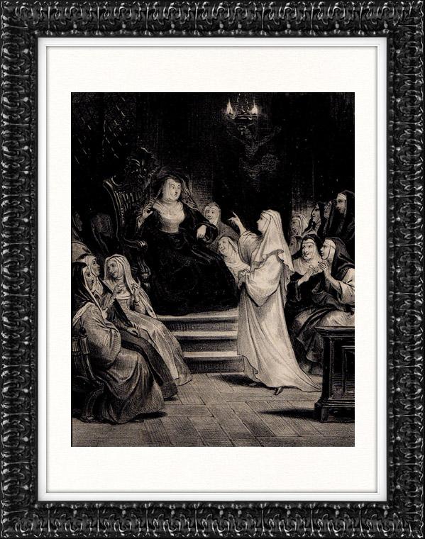 Gravures Anciennes & Dessins   Littérature Française - XVIIème Siècle - Le Psautier (Jean de La Fontaine)   Lithographie   1830