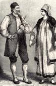 Bauren Albanische Typische Kleidung