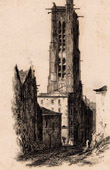 Historical Monuments of Paris - Tour Saint-Jacques - Church Saint James of the Butchery