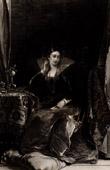 English Painting XIXth Century - The Love letter (Richard Parkes Bonington)
