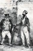 Ashamed Beggar (Charlet)