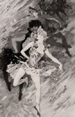 Print of French painting - The Dance (Jules Chéret)