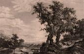 Dutch painting - A Loneliness (Salomon Van Ruysdael)