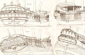 French Royal Navy - 1787 - Warship - Shipbuilding - Naval Architecture