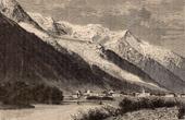 View of Chamonix - Mont Blanc - Monte Bianco (Haute-Savoie - France)