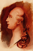 Portrait of Giacomo Casanova (Emile de Sainzec)
