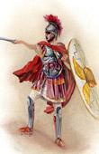 Roman Costume - Centurion - Roman Legionary (Emile de Sainzec)