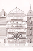 Drawing of Architect - Architecture - Paris - Museum d'Histoire Naturelle (M. Dutert)