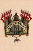 Coat of arms of the Copenhagen city (Denmark)