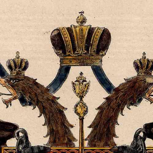 Wappen der stadt von sankt petersburg russland