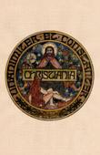 Coat of arms of the Oslo city (Norway) - Christiania - Copenhagen Denmark)