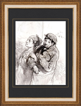 Caricature - Paris at the 19th Century - Collection Paul Gavarni 29/38