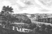 View of Petronell-Carnuntum - Danube (Austria)