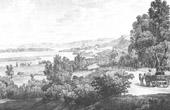 View of Syrmia - Sremski Karlovci - Markt Carlowiez - Danube (Serbia)