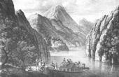 View of the Obere Michel - Danube (Austria)