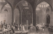 View of Khan As'ad Pasha - Caravanserai - Damascus (Syria)