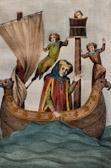 Portrait of Friedrich von Hausen (1150-1190) - Codex Manesse