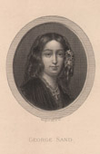 Portrait of George Sand (1804-1876) - French Author